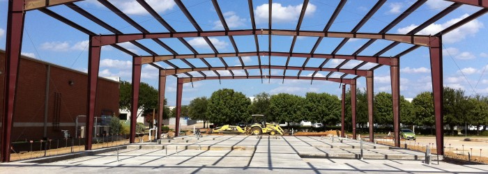Small Steel Framed Building : Facility dallas audio post